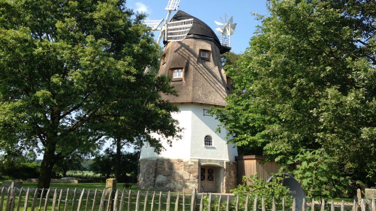 Luxuriöser Urlaub in einer alten Mühle, in der Lüneburger Heide. Foto ©Ferienhaus Die alte Mühle.