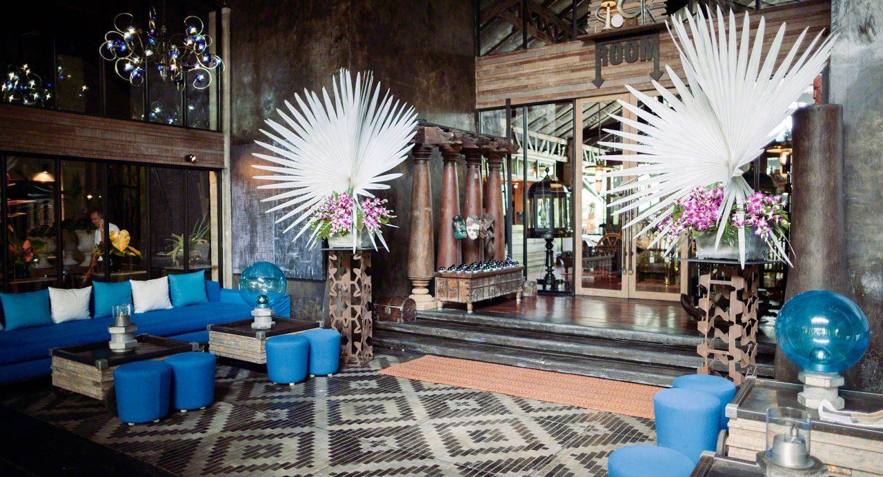 Lobby im The Slate Hotel Phuket©Mirco Seyfert