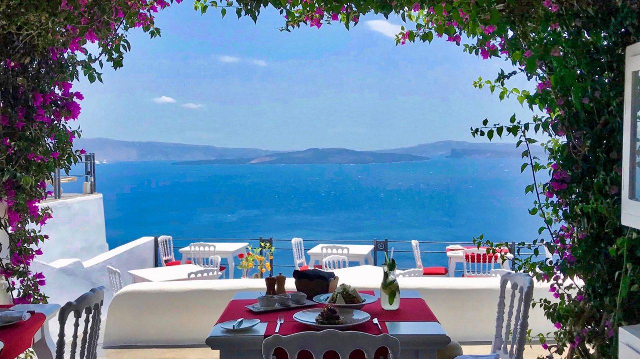 Gourmet Restaurant in märchenhafter Kulisse, Lauda Restaurant in Oia, Santorini