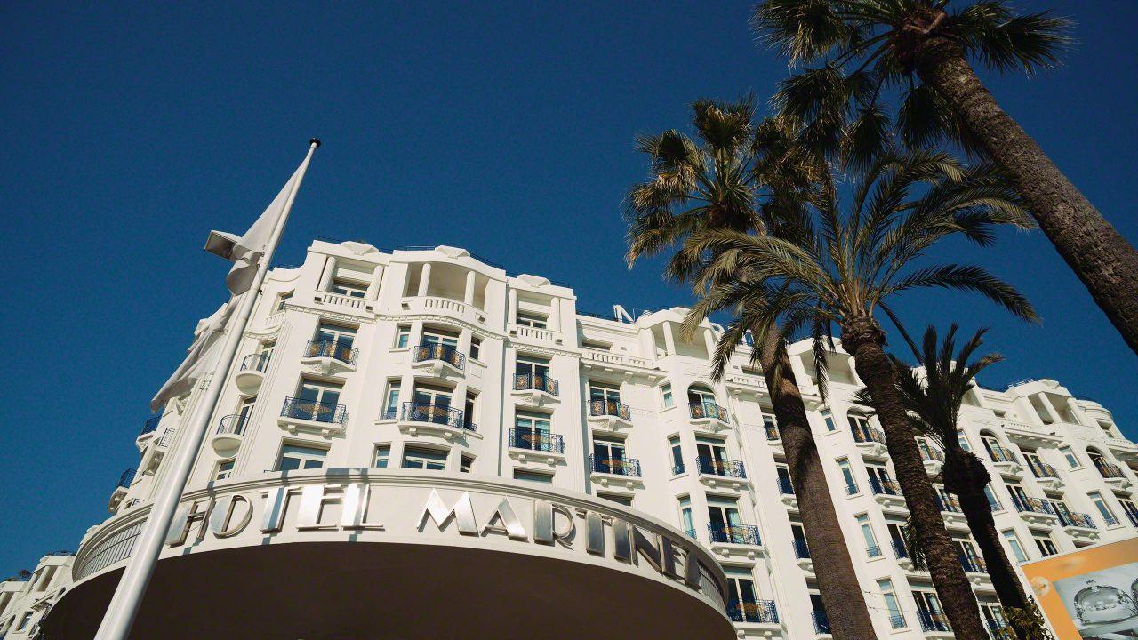 Im luxuriösen Hotel Martinez in Cannes steigen die Stars ab. ©Mirco Seyfert