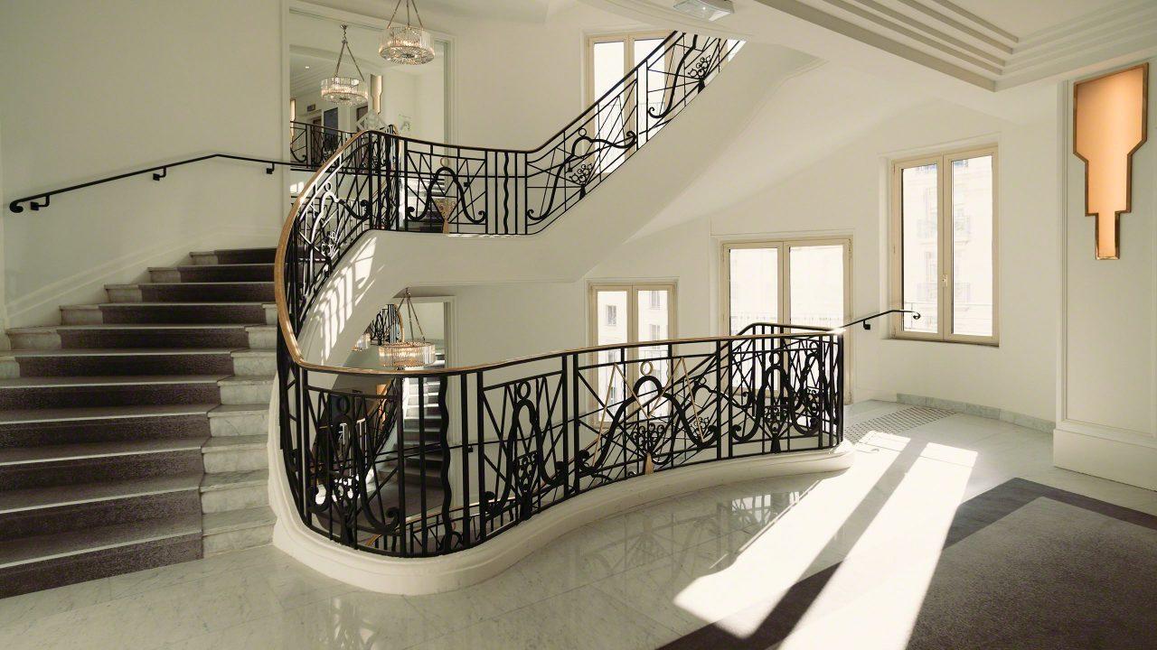 Das schönste Treppenhaus dass ich kenne, ein Schmuckstück. ©Mirco Seyfert