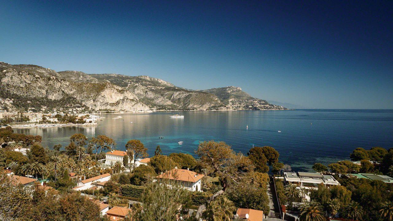 Idyllisch und ruhig, die Halbinsel Cap Ferrat ist übersät mit luxuriösen Villen ©Mirco Seyfert
