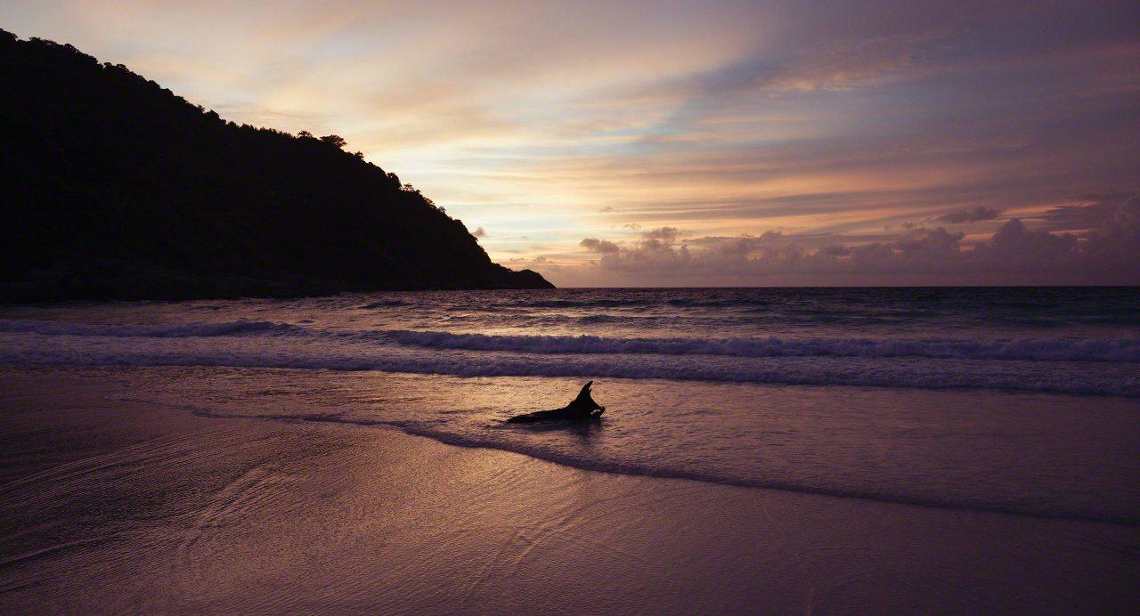 Am Abend gehört der ganze Strand dir alleine. ©Mirco Seyfert