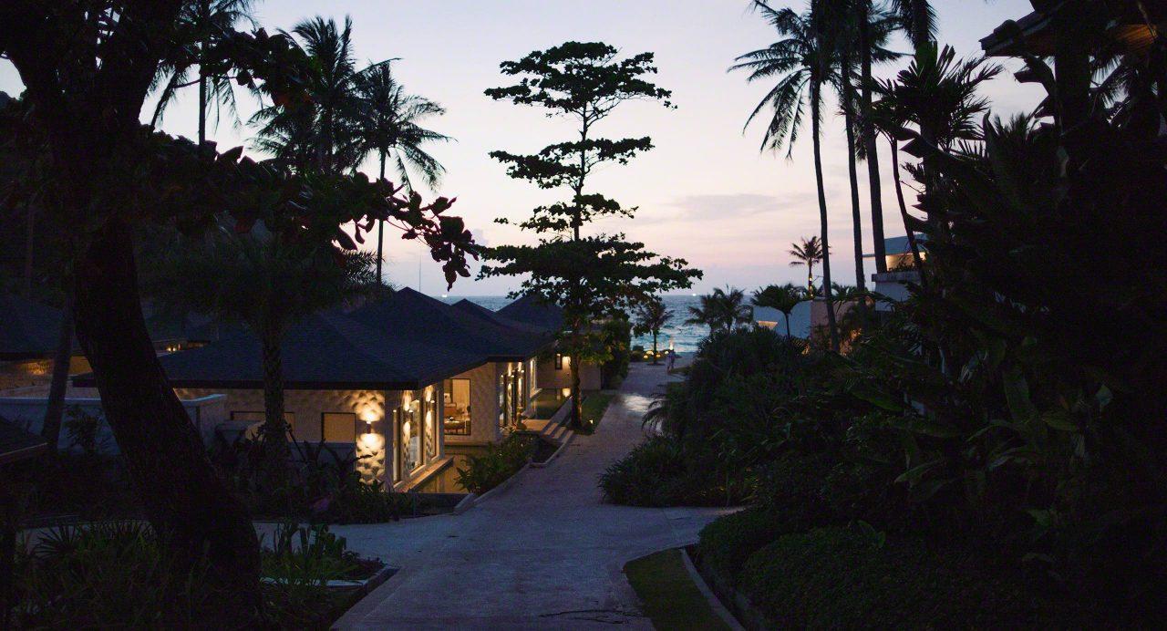 Das Resort im Sonnenuntergang ©Mirco Seyfert