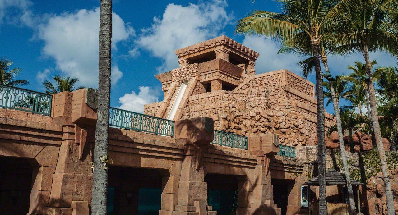 Bahamas: Atlantis Resort Wasserrutsche, Maya Temple © Mirco Seyfert