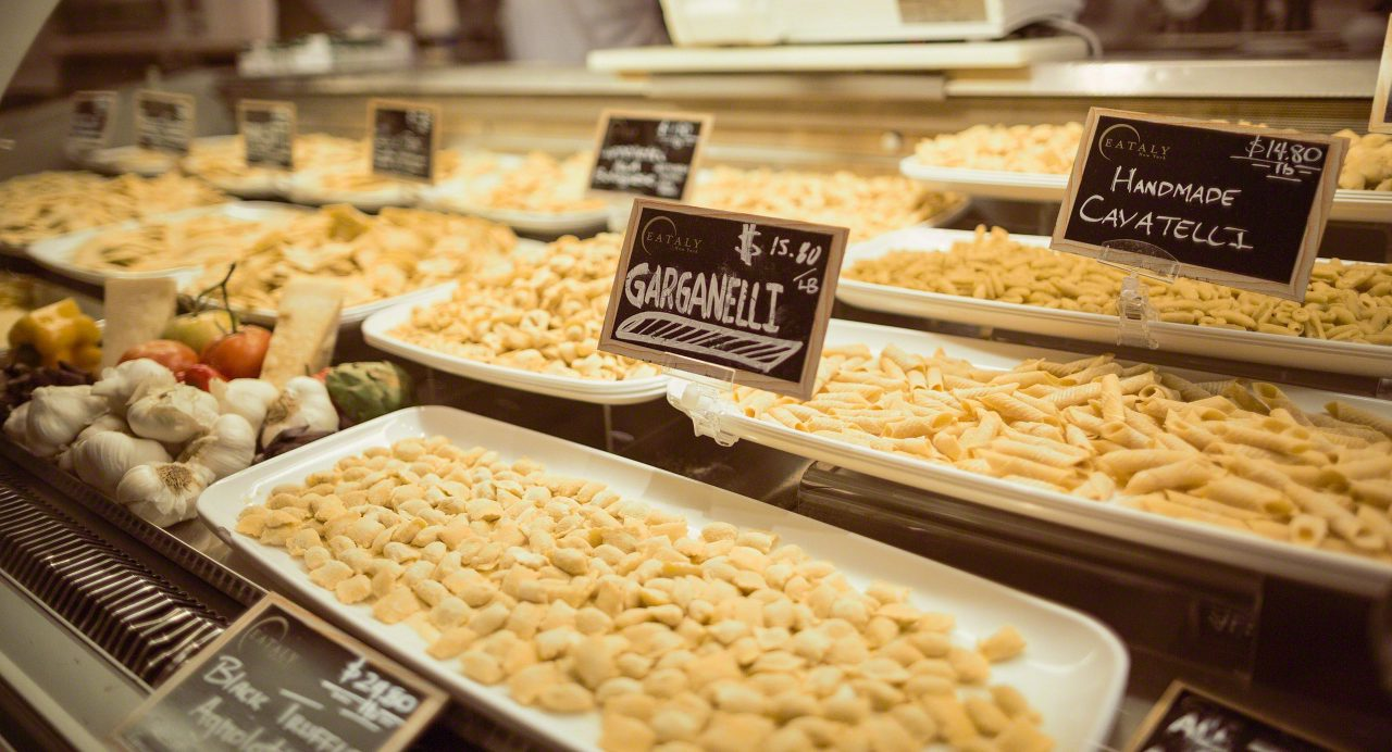 New York Eataly: Pasta