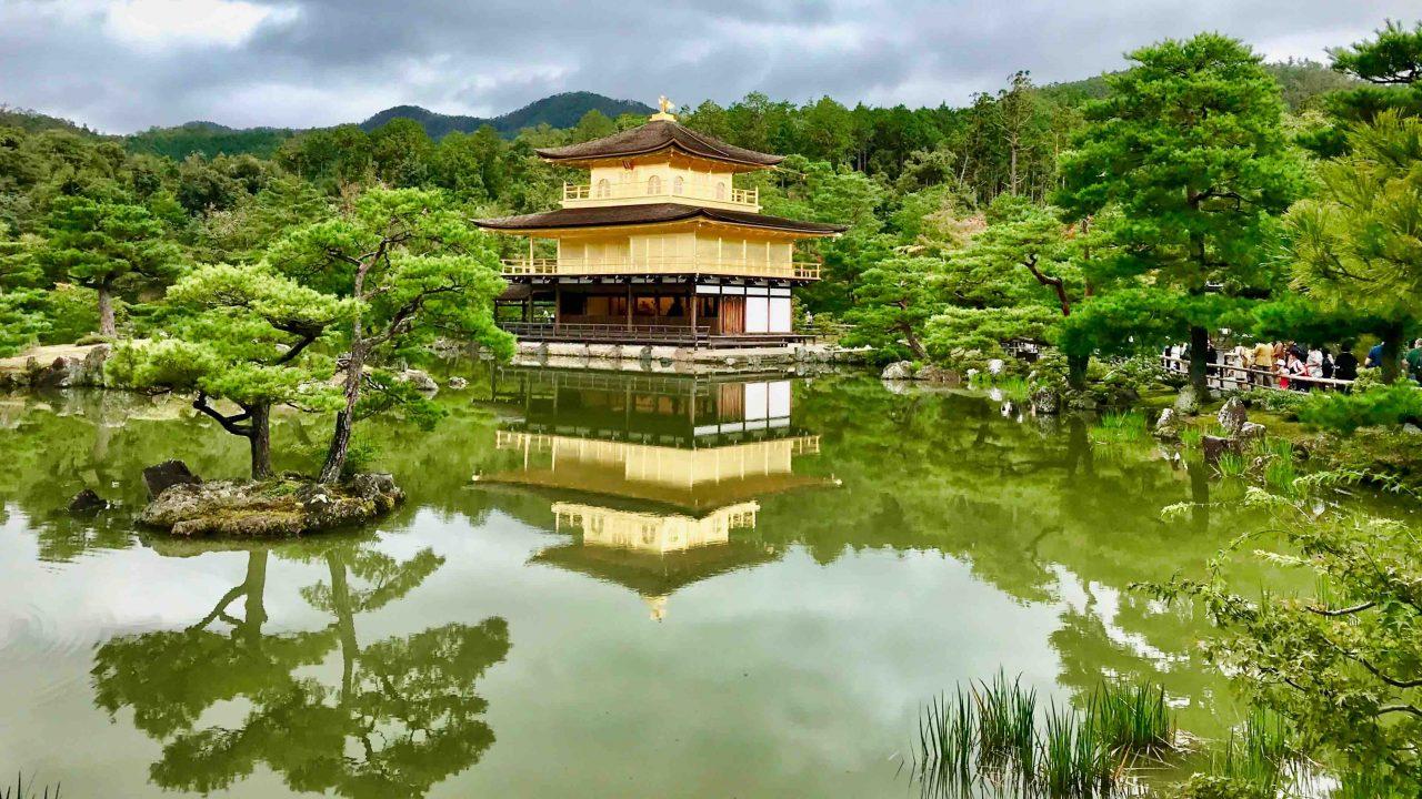 Kinkaku-ji Tempel - alles was glänzt ist aus Gold.