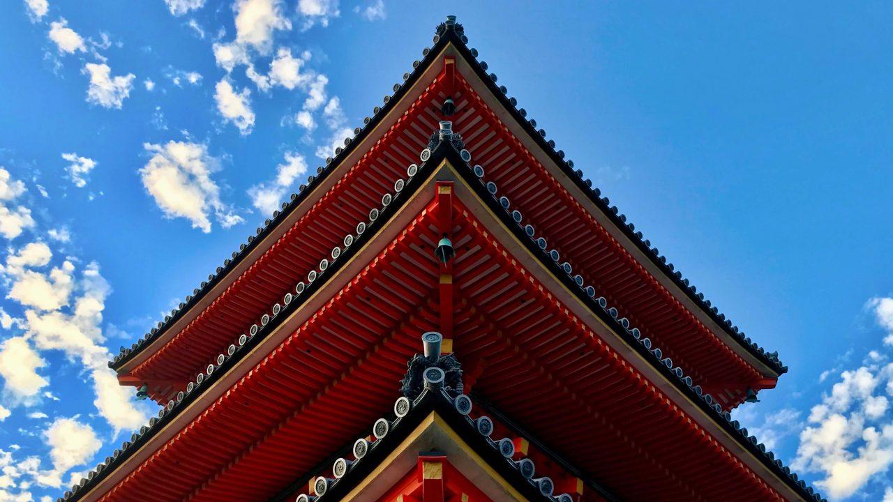 Der Kiyomizu-dera ist vielleicht der beliebteste Tempel in Kyoto.