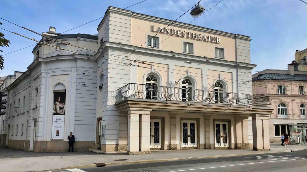 Salzburger Landestheater: Eines der schönsten Theater Österreichs.