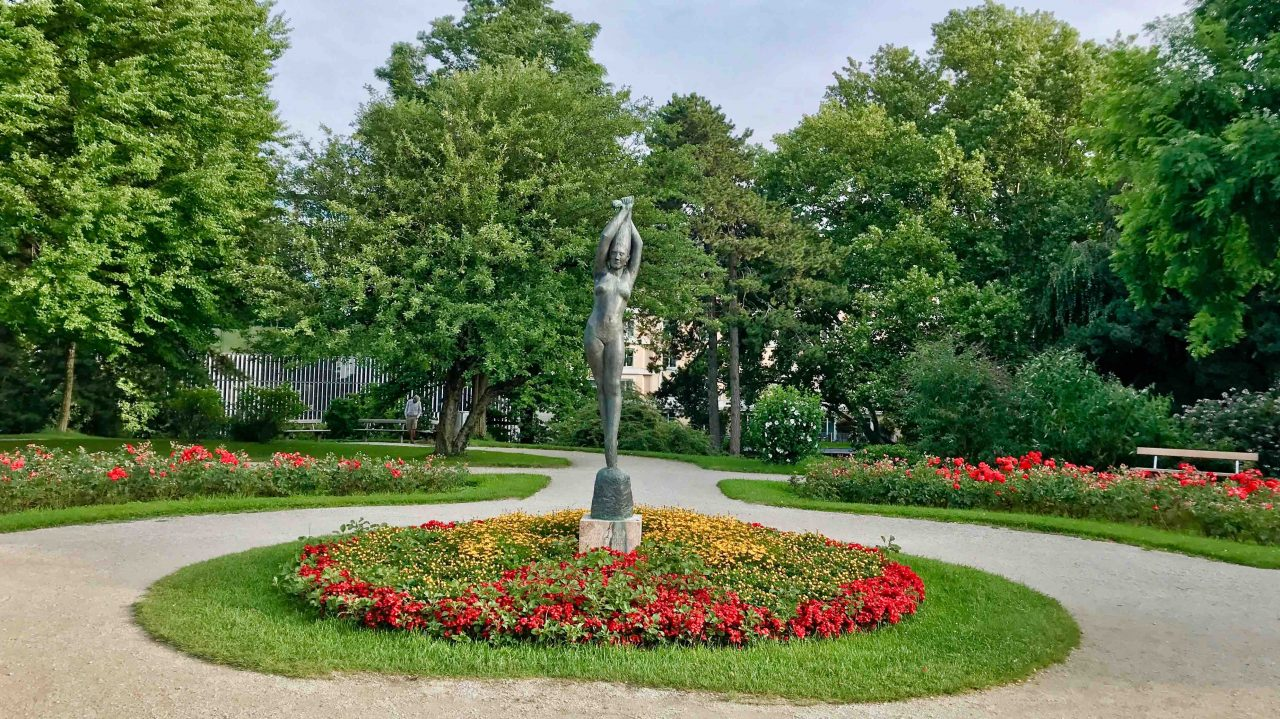 Die Mirabell-Gartenanlage ist eine grüne Oase inmitten der Salzburger Stadt.