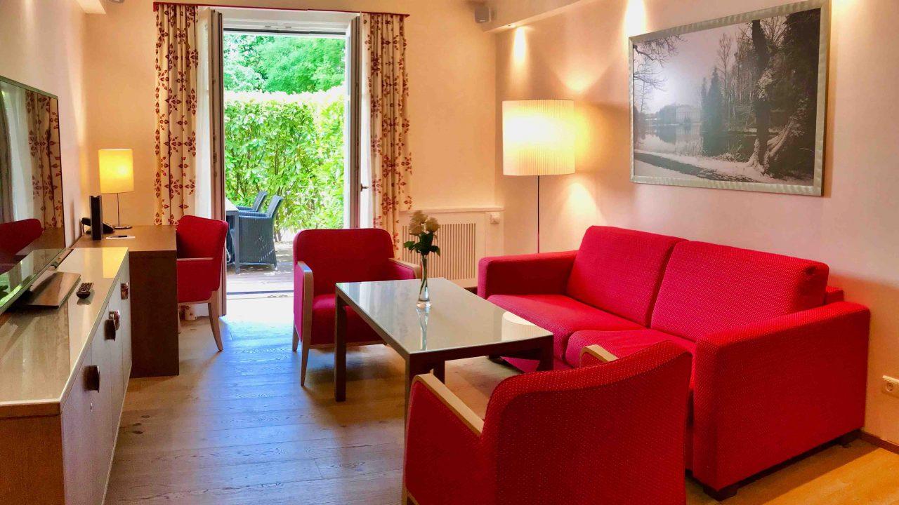 Salzburgs Grosste Suite Im Luxushotel Sheraton Grand Luxus