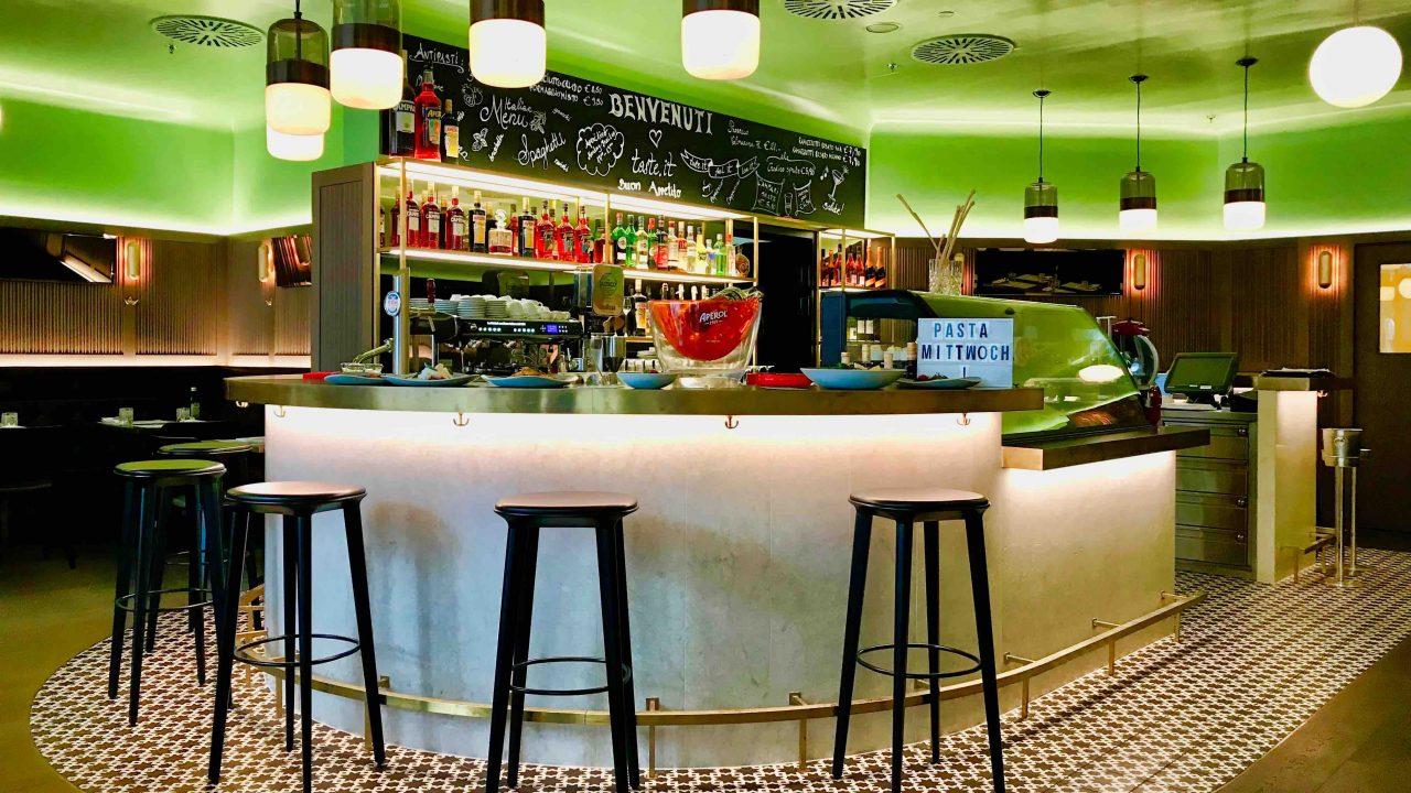 Taste.it: Das italienische Restaurant lieben nicht nur die Hotelgäste.