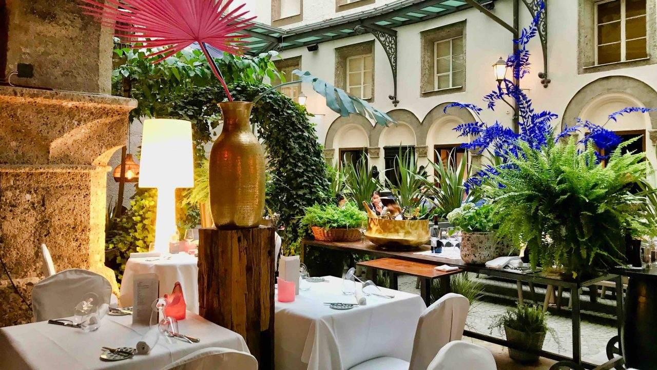 St. Peter Stiftskulinarium: eines der außergewöhnlichsten Top-Restaurants in Salzburg.