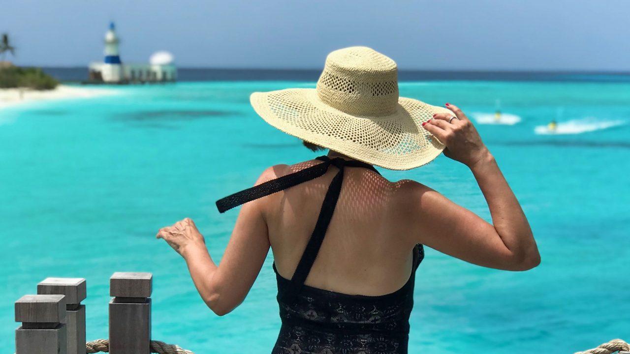 Mein aquamarinblauer Malediven Traum - ganz real.
