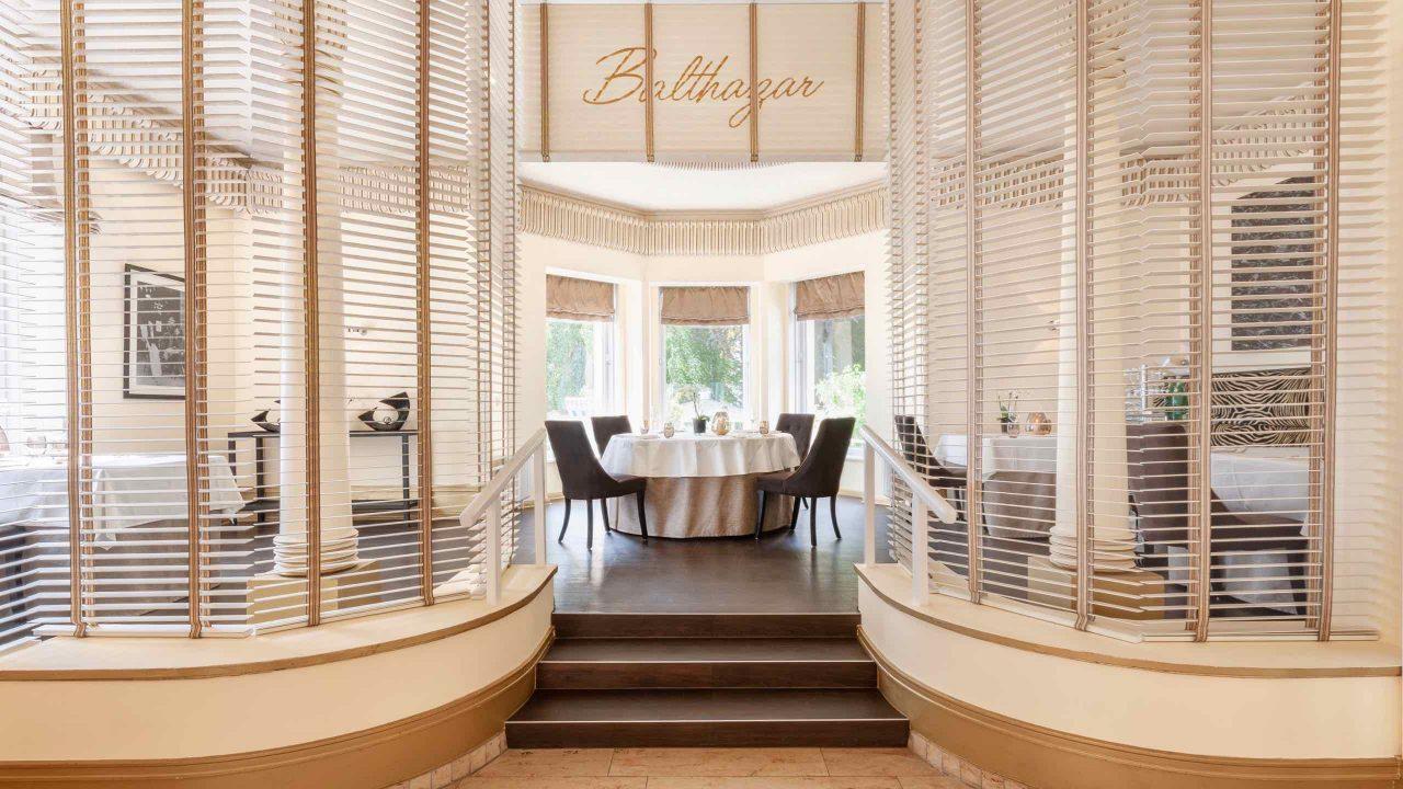 Kulinarische Highlights im historischen Ballsaal des ausgezeichneten Restaurants Balthazar. Foto ©Stephan Patzsch