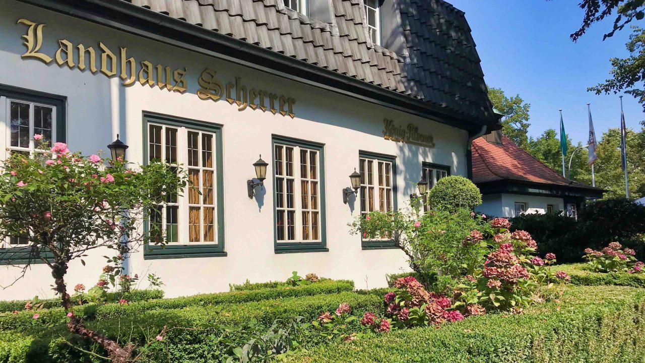 Das Landhaus Scherrer: Seit über 30 Jahren eine Institution und Feinschmecker-Tempel an der schönen Elbchaussee.