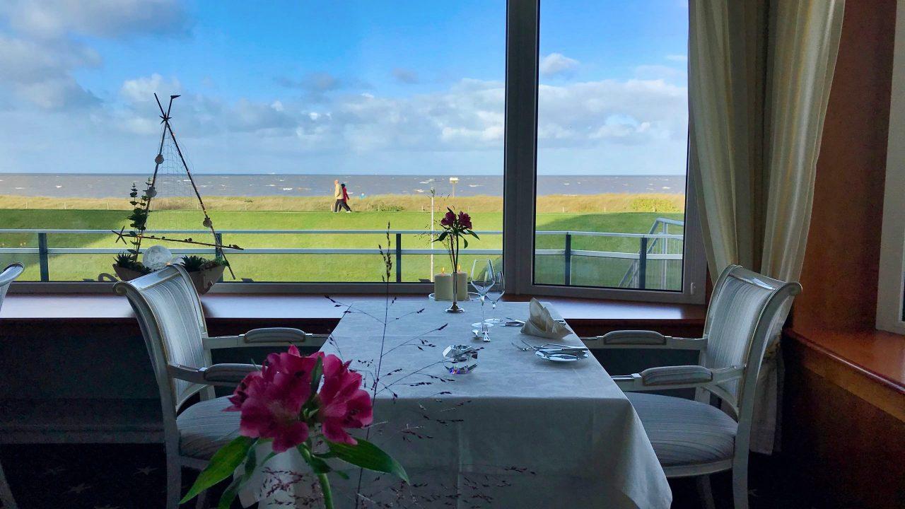 """Nordseepanorama: """"Sterneck"""", das beste Restaurant in Cuxhaven überzeugt Gourmets und Naturliebhaber zugleich."""