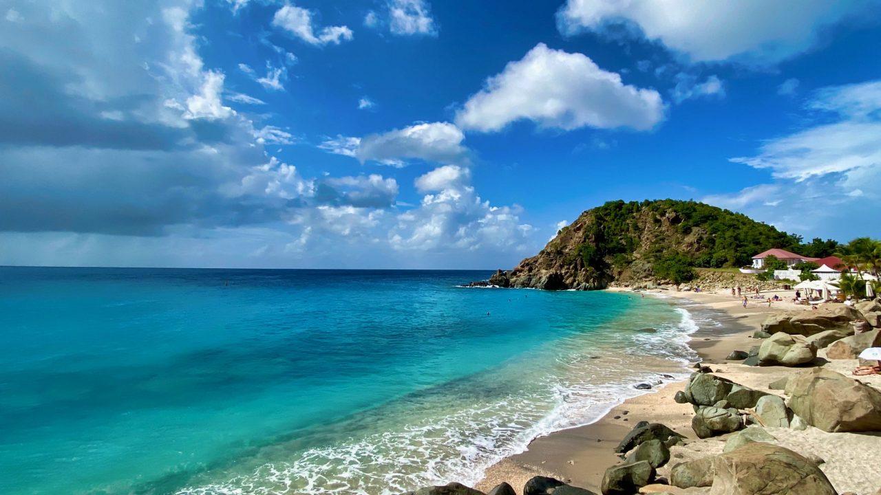Shell Beach, das Bilderbuchparadies! Alleine hier zu liegen, ist Luxus pur.