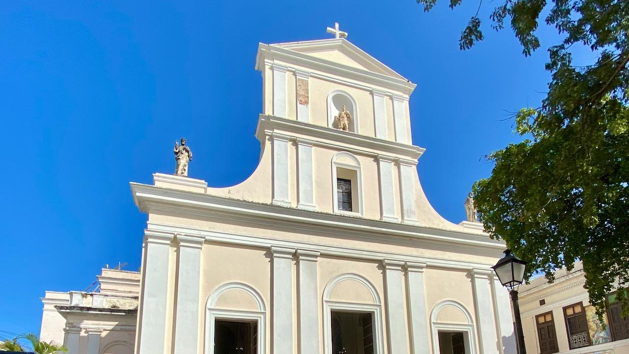 Kathedrale von San Juan: Sie ist die zweitälteste Kirche der Neuen Welt.