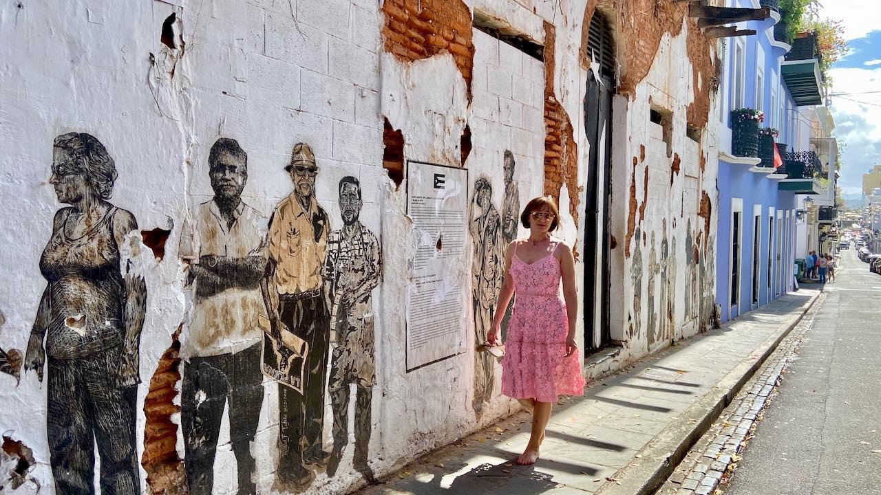 Instagram-Hotspot: La Puerta de la Bandera in der Altstadt von San Juan ist selten so leer.