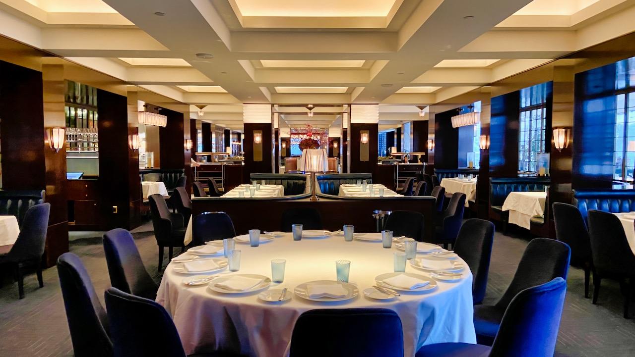 TAK Room: Das beeindruckende Interior-Design stammt von David Collins Studios.