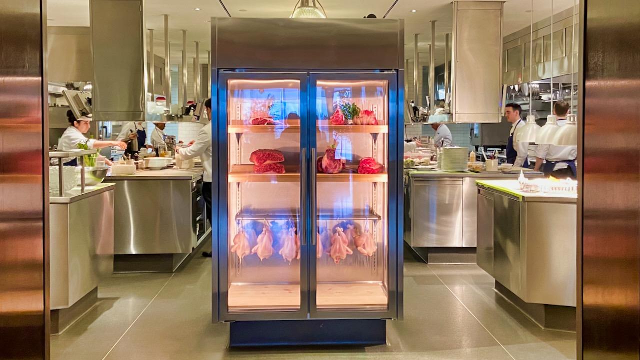 TAK Room: Einblicke in die offene Küche.
