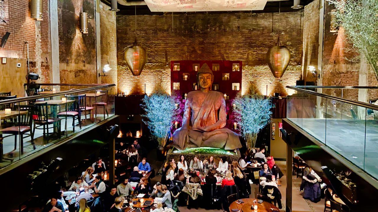 TAO zählt zu einem der besten chinesischen Restaurants in New York.