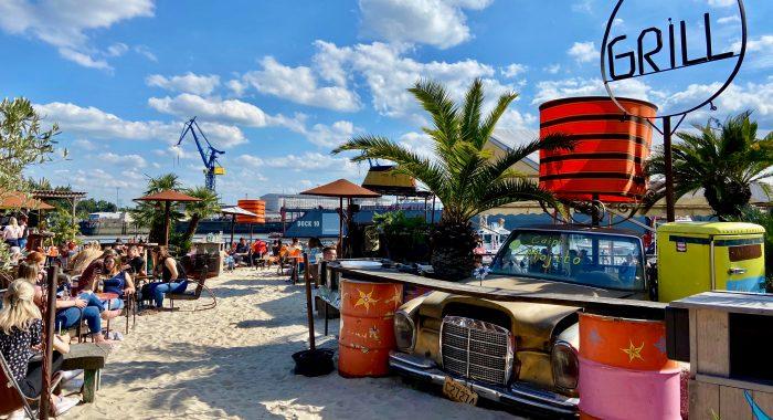 Strandurlaub in Hamburg – Die schönsten Beachbars