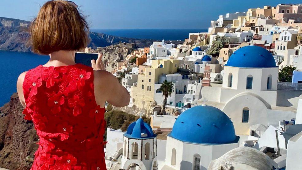 Santorini: Die Augenweide im Ausnahmezustand ist nicht nur für Blogger und Fotografen ein prachtvolles Motiv