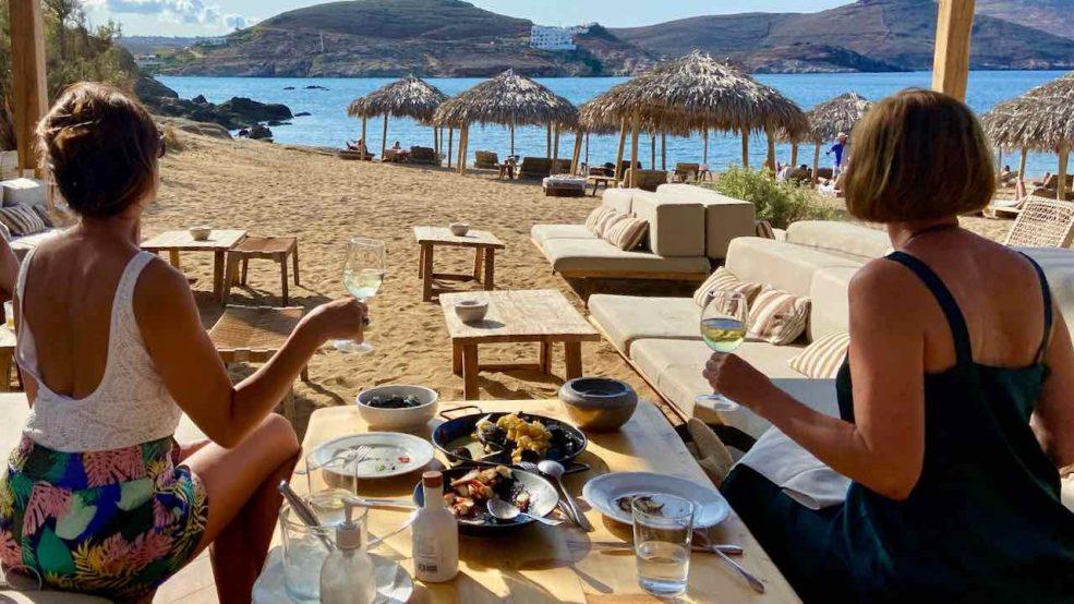 Mykonos Reisetipps Beach Clubs Alemàgou Restaurant
