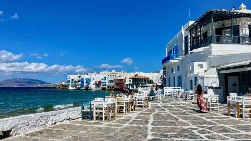 Mykonos Reisetipps Beach Clubs Altstadt