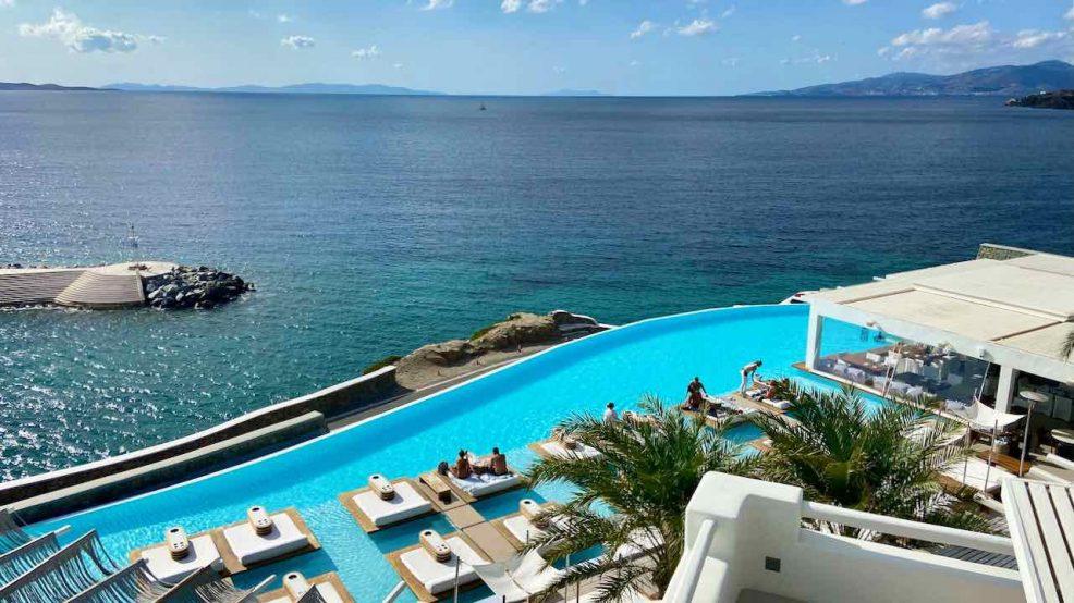 Mykonos Reisetipps Beach Clubs Cavo Tagoo Hotel Pool