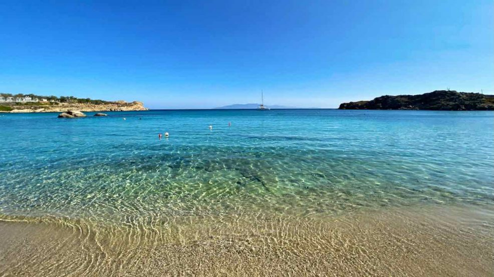 Mykonos Reisetipps Beach Clubs SantAnna Beach Strand