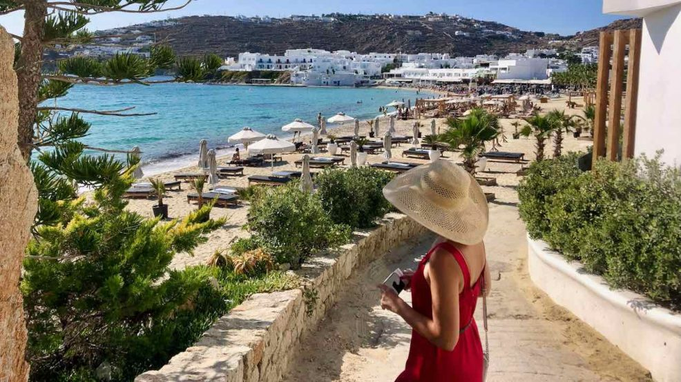 Mykonos Reisetipps Beach Clubs Svemirka Seyfert