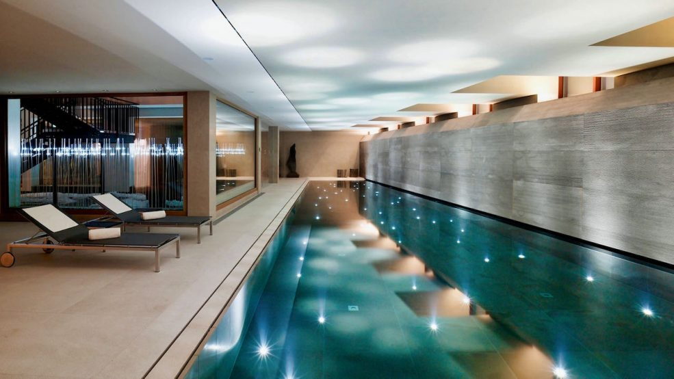 Lech am Arlberg Aurelio Chalet Luxushotel Reisetipps Spa und Schwimmbad