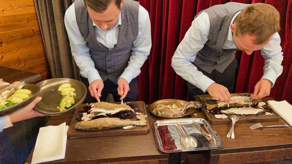 Lech am Arlberg Aurelio Chalet Luxushotel Reisetipps Aurelios Restaurant Köche