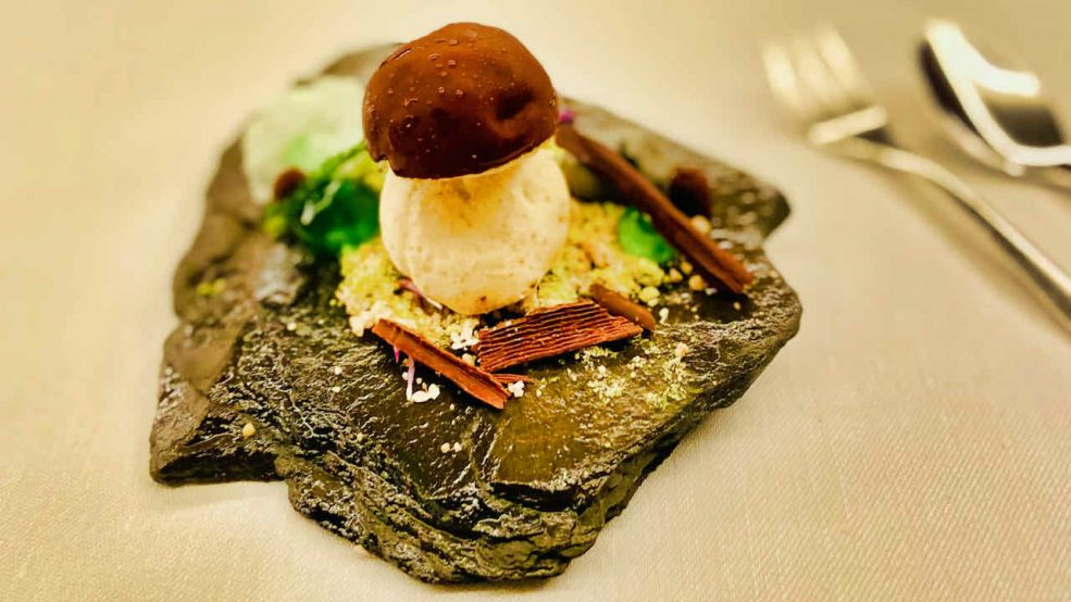 Lech am Arlberg Aurelio Chalet Luxushotel Reisetipps Restaurant Aurelios Dessert